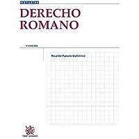 Derecho Romano 5ª Edición 2015 (Manuales de Derecho Canónico, Romano e Historia del Derecho)