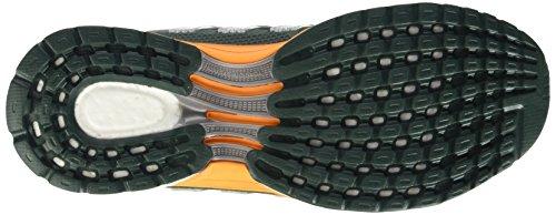 adidas Herren Response 2 Graphic M Laufschuhe - Grey / Naranja / noir (Vermin / Eqtnar / Negbas)