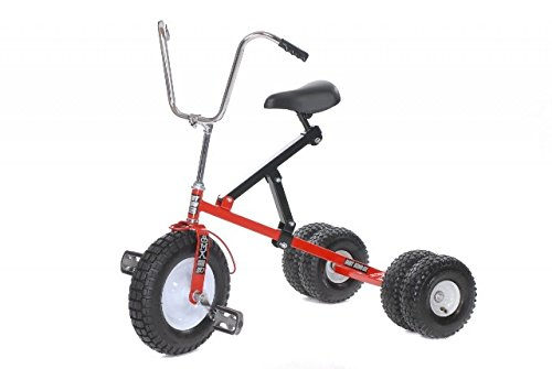 Big Kids Dually Tricycle (Red) by Dirt King