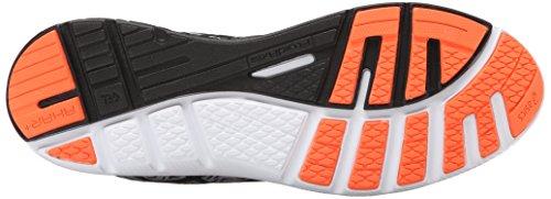 Chaussure De Running Asics Homme Gel-super J33 2 Noir / Argent / Flash Orange