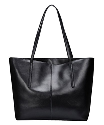 Leather And Patent Leather Tote Bag - 3
