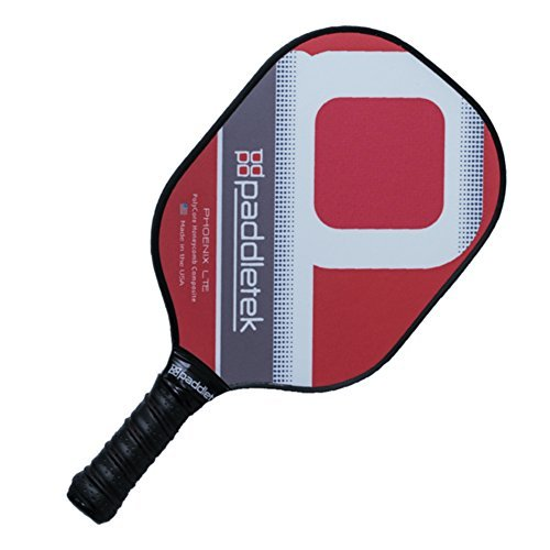 Paddletek Phoenix LTE Pickleball Paddle (Red) by Paddletek (Image #1)