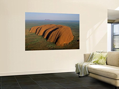 Uluru, Kata Tjuta National Park, Northern Territory, Australia Wall Mural by Steve Vidler 48 x 72in