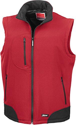 Softshell Résultat R123 Gilet Rouge noir Sans nbsp;a w6EqC6F