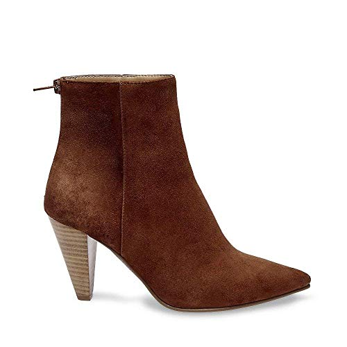 Dress Madden Us 9 Chestnut Steve 0 Suede Virtue Women's Bootie zYAdxUqHw