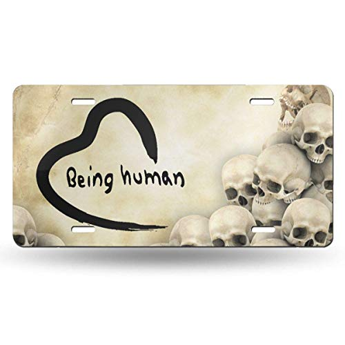 Cute Salman Khan You Can Learn Custom License Plates Personalized Aluminum for US Canada Cars, Metal Auto Tag Sign for Women/Men, 12 x 6 Inch