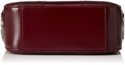 Hugo Kora 10199296 01, Borse a spalla Donna Rosso (Dark Red)