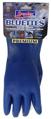 Bluettes Knit Rubber Glove by - Gloves Bluette Spontex