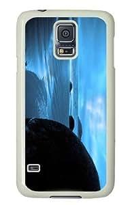 Customized Samsung Galaxy S5 White Edge PC Personalized Whisper Cover doudou's case wangjiang maoyi