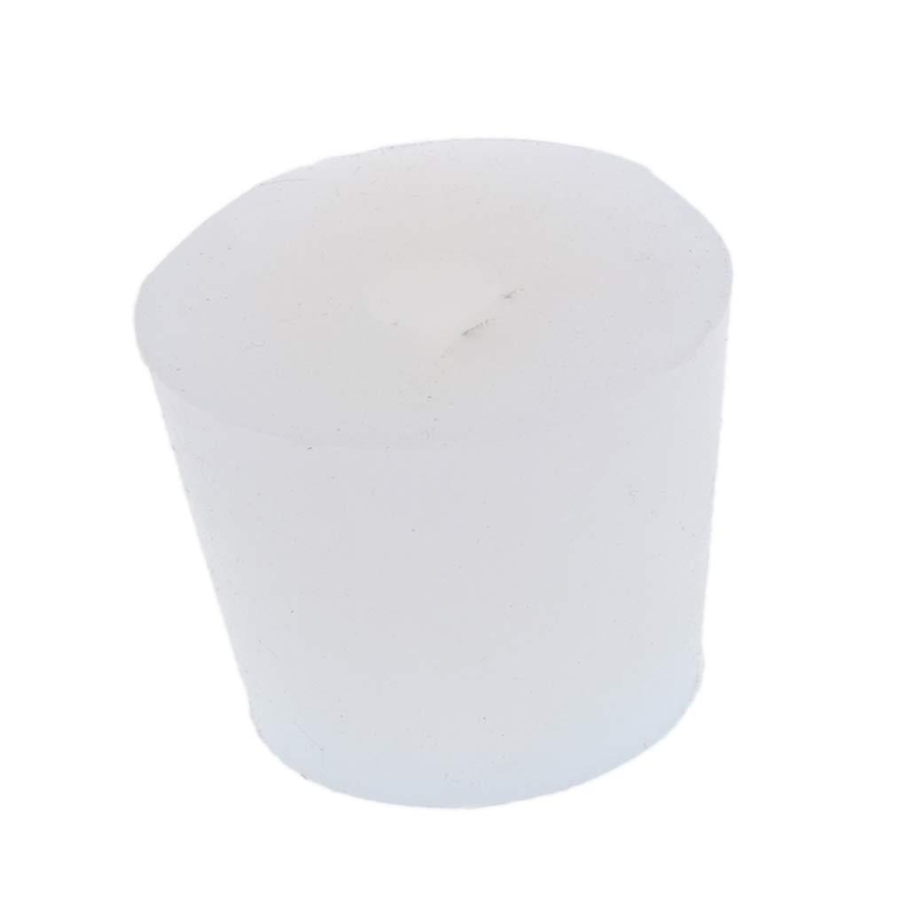 Agujero de 2.5-3.4 cm Shiwaki Tap/ón de Cristaler/ía Hecho de Silicona de Grado Alimentario Respetuoso con el Medio Ambiente y no T/óxico
