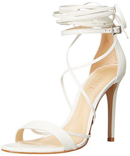 Schutz Women's Jeanette Dress Sandal, Pearl, 8.5 M US