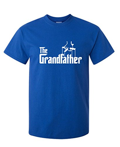 The Grandfather Fathers Day Gift Grandpa Movie Graphic Novelty Funny T Shirt L Royal (Grandpa Birthday Gift Ideas)