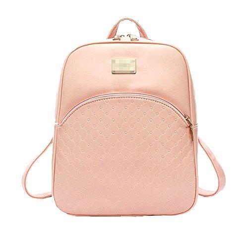 Diamant Bandoulière Universitaire Sac à Adolescent En Sac à pink Pour Bandoulière Cuir Pu Femme Multicolore En qT5nP8wI