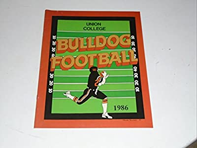 1986 Union College (kentucky) Football Media Guide Ex-mint Box 28