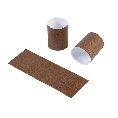 Brown Napkin Ring - Gmark Paper Napkin Band Box of 500 (Brown), Paper napkin rings self adhesive GM1052A