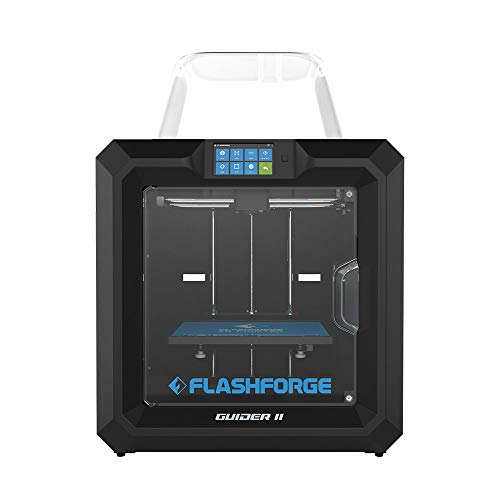 Flashforge 3D Printer Guider II Large Size Intelligent Industrial Grade 3D Printer,Resume Printing for Serious Hobbyists…