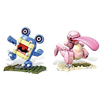 Mega Construx Pokemon Detective Pikachu Loudred AND Mega Construx Pokemon Detective Pikachu Lickitung: Toys & Games