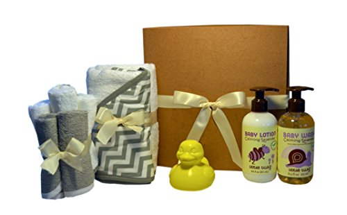 Nature Baby Natural & Organic Bath Time Solutions Gift Set