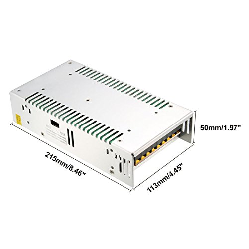 uxcell Switch Power Supply Driver S-360-12,AC 110V/220V to DC 12V 30A 360W for LED Strip Light by uxcell (Image #2)
