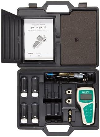Oakton pH 11 Economy Meter Kit, -2.00 to 16.00 pH Range