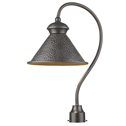 Sirét Lighting ST7008-ORB Pickwick 1-Light Oil Rubbed Bronze Dark Sky Lamp Outdoor Post