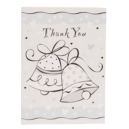 Wedding Bells Thank You Note Cards, 8ct ()