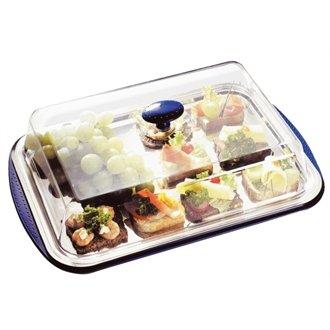 Nextday Catering U265 refrigeración pantalla bandeja y tapa, 5 piezas