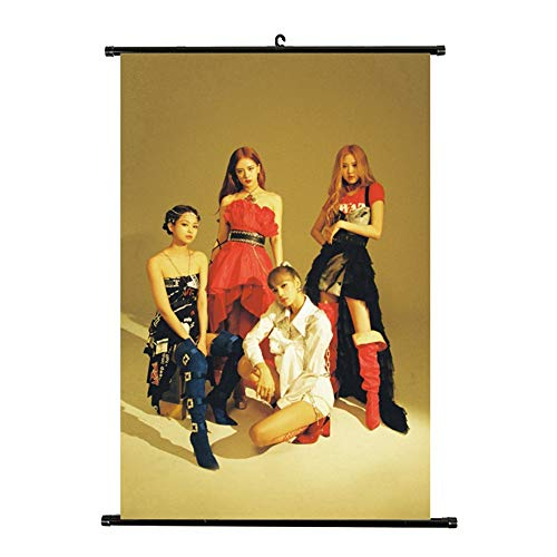 Youyouchard Kpop Blackpink New Album Kill This Love Poster Official Supported Poste Hanging Painting Art Painting Wall Scroll Poster Fashion(H05)