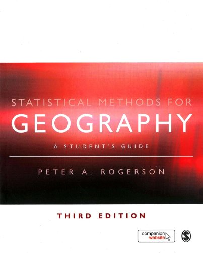 Download Statistical Methods for Geography: A Student's Guide Pdf