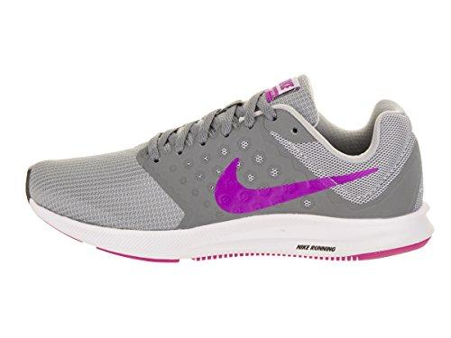 wolf Femme black De Gris Grey hyper Chaussures white Running cool 7 Nike Downshifter Violet Grey fqaUTP