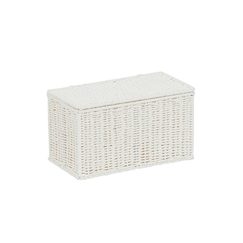 (Household Essentials White Paper Rope Lidded,)