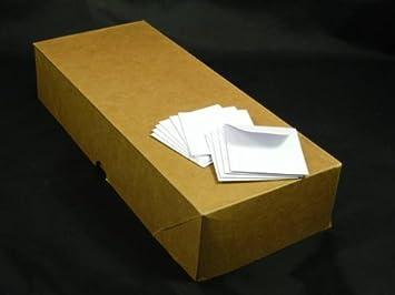 High Quality 24 Lb White 2u0026quot; X 2u0026quot; Coin Envelope, Super Value Pack