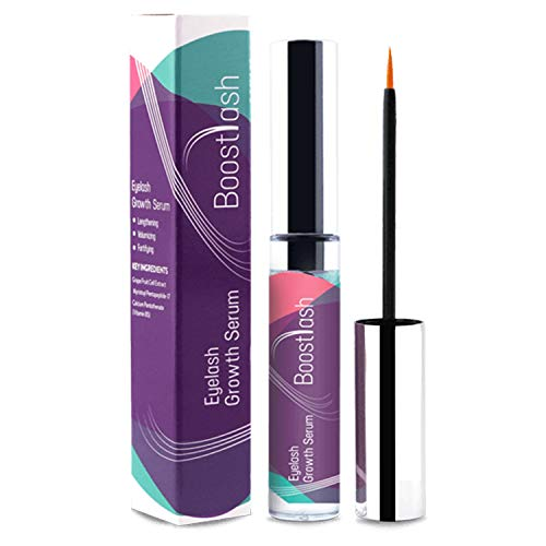 BoostLash Eyelash Growth Serum 7.5 ML Gives You Longer Thicker Fuller & 3X Healthier Lashes (in 30 days), Proudly Made in USA. Premium Quality Ingredients Using Grape Stem Cell Extract (Buy 1)