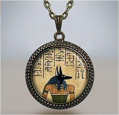 Amazon anubis pendant anubis necklace charm egyptian jewelry anubis pendant anubis necklace charm egyptian jewelry ancient egyptian god of the dead aloadofball Images
