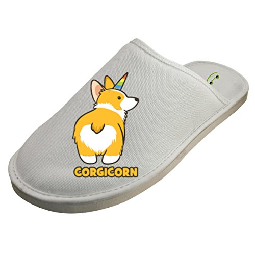 Cotton Short Low Corgi House Slippers Babouches Baboosh Chinela Slipper For Man Woman Kids Children by 4B854DF6B