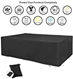 Best Outdoor Furniture Covers - CDGroup Extra Large Rectangular Patio Furniture Table Covers Review