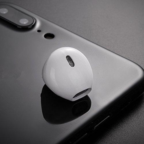 Zanteca Mini Auriculares con Bluetooth Inalámbrico Auriculares Estéreo Portátil con Caja de Carga para Teléfono blanco