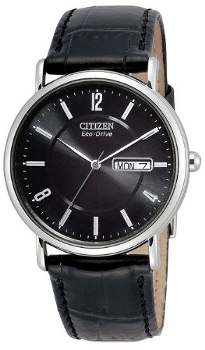 Citizen Men's Eco-Drive Stainless Steel Watch with Date, BM8240-03E - Eco Drive Stainless Steel Watch