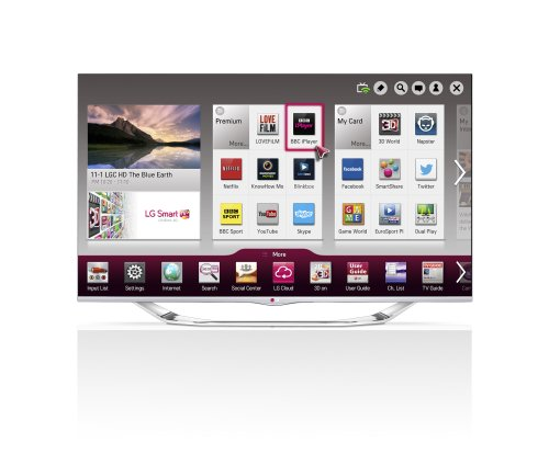 LG 47LA740V 47-inch Widescreen 1080p Full HD Cinema 3D Smart LED TV with Cinema Screen/Built-In Wi-Fi/Freeview HD