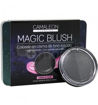 CAMALEON MAGIC BLUSH COLORETE EN CREMA TONO ROSADO COLOR NEGRO 4 GR