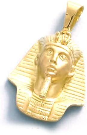 LIOR - Colgante Oro 18k (750) Tutankamon -7.5gr: Amazon.es: Joyería