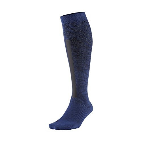 Nike Elite High Intensity Deep Royal Blue/Black/Black Women's Crew Cut Socks Shoes
