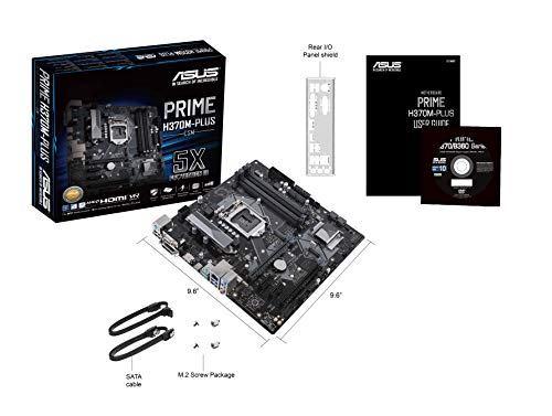 Build My PC, PC Builder, ASUS PRIME H370M-PLUS