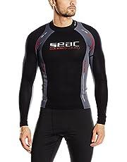 Seac Warm Guard Long - Chaleco protector térmico manga larga, para hombre, en neopreno de 0,5 mm, protector contra salpicaduras para el buceo y la natación anti-UV