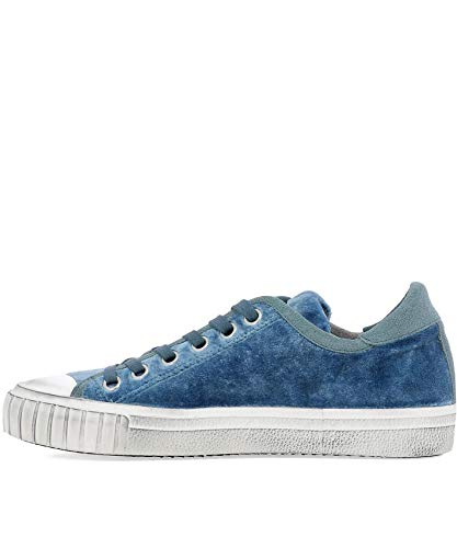 Claire Grldev03 Model Bleu Baskets Philippe Velours Femme TOInq