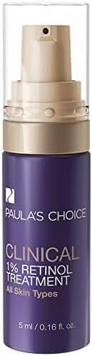 Paula's Choice CLINICAL 1% Retinol Treatment with Peptides & Vitamin C for Deep Wrinkles – 0.16 oz