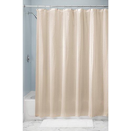 InterDesign Cotton Shower Curtain Luxury