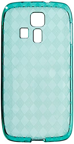 HR Wireless Kyocera Hydro Icon 6730 TPU Cover - Retail Packaging - Neon Green (Kyocera Hydro Edge Case Bling)