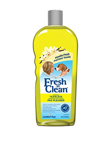 Lambert Kay Fresh 'N Clean Tearless Puppy Shampoo, Light Vanilla Scent, 18-Ounce