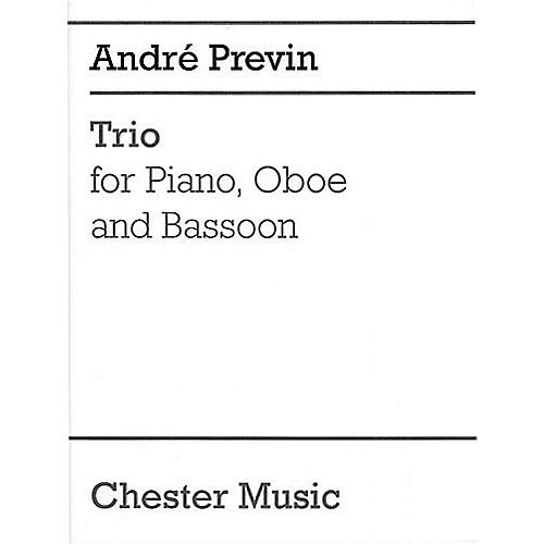 - Trio for Piano, Oboe and Bassoon Music Sales America Series by Andr Previn